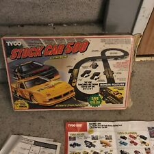 1c Tyco Stock Car 500 Race Set No Cars Able To Use Other Slot Cars