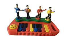 The Wiggles 2004 Red Play Along Dancing Piano Keyboard Spin Master