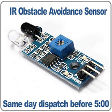 IR Infrared Obstacle Avoidance Sensor Module, object detector Arduino, PIC, AVR