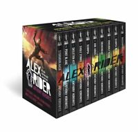 Alex Rider 10 Book Collection Box Set By Anthony Horowitz ,Brand New - Paperback