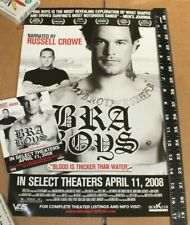 2008 Australia Bra Boys Surf Movie Poster & Postcard Russell Crowe