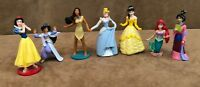 Princess Lot Disney PVC action figure lot cake topper Beauty and the Beast