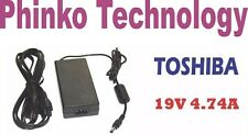 NEW AC Adapter Charger for TOSHIBA Portege R830 R835 Z830 R700, 19V 4.74A, 90W