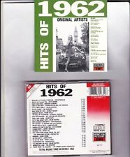 Hits of 1962 (26 tracks, mfp/EMI, 1988, UK) Craig Douglas, Matt Monro, Be.. [CD]