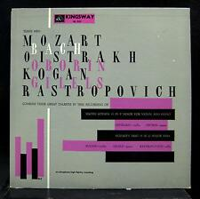 DAVID OISTRAKH & LEV OBORIN bach mozart LP VG+ KL 261 Kingsway USA Mono Kogan