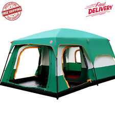 Camping Tent Outdoor For 5 6 7 8+ people outing two bedrooms New