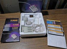 MSC Tech PC MOUSE  - 3 Button Optical, Serial Pin, System Disks, PC Paint, Books
