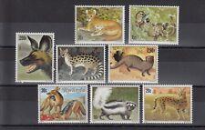 TIMBRE STAMP  8 RWANDA Y&T#1000-07 FAUNE ANIMAL NEUF**/MNH-MINT 1981 ~B64