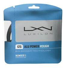 Luxilon big banger alu puissance rough 1,25 mm 16L tennis cordes set