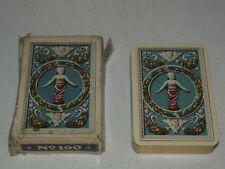 Finissime Italia Secolor No. 190 Piatnick Dante Playing Cards