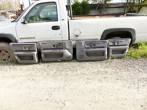 91 92 93 94 95 96 Buick Roadmaster Chevrolet Impala grey 4 door panels