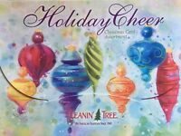 Christmas Cards LEANIN' TREE BRAND Set of 20 HOLIDAY CHEER   *Free Ship*