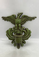 "Vintage Eagle Candle Holder SEXTON Aluminum Spread Wing 7-1/4""x7"""