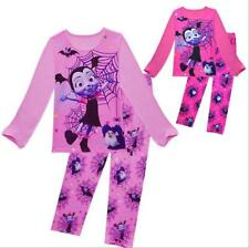 Vampirina Kids Girls Fall Cartoon T-shirts Tops Pants Home Sleepwear Pajama Set