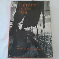 Vtg Return To The Sea By William Albert Robinson 1972 1st Edition Illustrated