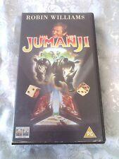 1995 Jumanji Kirsten Dunst Robin Williams Bonnie Hunt PAL VHS Video L@@K