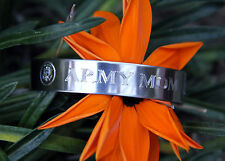 ARMY MOM BRACELET SON DAUGHTER PIN UP BASIC TRAINING GRADUATION GIFT MADE IN US