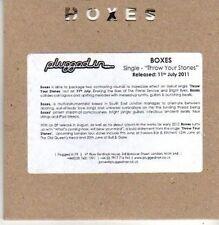 (CB534) Boxes, Throw Your Stones - 2011 DJ CD