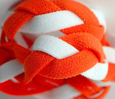 NEW! Orange White Grippy Band Headband Hair Sport Soccer Softball Stretchy Sweat