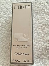 NEW Sealed Eternity Calvin Klein Perfume Spray 1.7 oz
