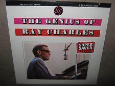 RAY CHARLES The Genius of RARE SEALED SS NM New Vinyl LP Atlantic 1312 CutOut