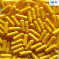 DR T&T 1000 Empty gelatine gelatin Capsules yellow size 00 size00 separated