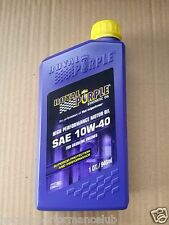 10w40  Royal Purple Engine Oil 10W40 [ 5 quarts 4.73L ]  01140