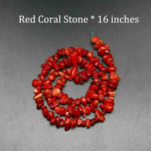 5-8mm Natural Stone Beads Chips irregular Gravel Gemstone DIY Jewelry Making