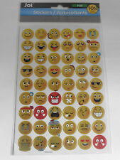 US 108 Emoji Emotion Sticker Aufkleber goldfarbig Gesicht Autocolllant bunt USA