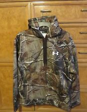 Men's Under Armour Cold Gear Real tree hunting hoodie loose fit warm M new NWT