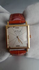 VINTAGE OLDER 1940S RARE SWISS AUTOMATIC WATCH RUNNING SOLID GOLD 18KT MONTRE OR
