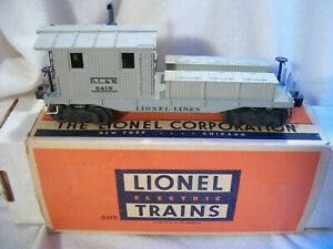"""Lionel #6419 """"D.L.& W."""" Work Caboose With Sleeve Box"""