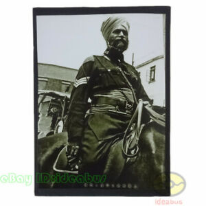 old photograph Indian police in Shanghai Foreign Settlement, China before 1949s