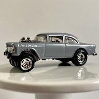 55 Chevy Bel Air Gasser Hoonigan Loose Hot Wheels 1/64 Diecast Metal Boulevard