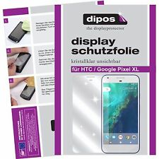 2x Google Pixel XL Schutzfolie klar Displayschutzfolie Folie dipos Displayfolie