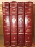 HARVARD CLASSICS EASTON PRESS ELIOT EDITION 4 Volumes