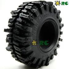 "4pcs RC 1/10 124mm Crawler Soft Tires Tyre W/ Foam for 2.2"" Beadlock Rims Wheels"