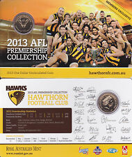 2013 PREMIERS CARD & COIN SET HAWTHORN HAWKS **SOLD OUT** not 2018 footy stars