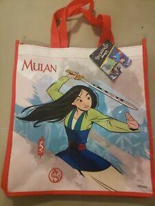 Disney Princess Mulan Tote Reusable Shopping Bag Party Gift Bag NEW Treat