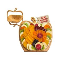 Dried Fruit Gift Basket – Healthy Gourmet Snack Box - Holiday Food Tray -