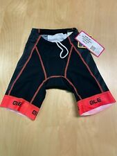 Alé Cycling Record Triathlon Shorts - Black/Orange - Women's Small