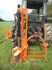 TRACTOR MOUNTED 22 TON LOG SPLITTER / WOOD PROCESSING / DELIVERY £45 / UK SPLITT