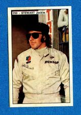 STORIA DELL'AUTOMOBILE Panini 1971-Figurina-Sticker n. 250 - STEWART JACKY -Rec
