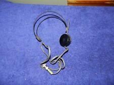 Vintage Headphones For Victoreen Radiation Detector