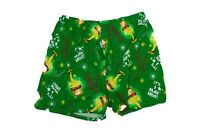 New Men s A Christmas Story Boxers Briefs Santa Claus Green Limited Edition