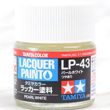 TAMIYA COLOR LACQUER LP-43 Pearl White PLASTIC MODEL KIT PAINT 10ml NEW