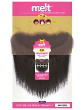 Janet Collection 100% Remi Human Hair HD Melt 13x5 STRAIGHT Lace Frontal Closure