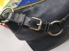 Dooney and Bourke black hobo shoulder bag well-used