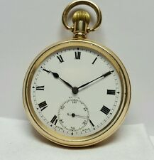 ANTIQUE ZENITH GOLD FILLED POCKET WATCH SERIAL # 2332675 SIZE 14S MOVEMENT