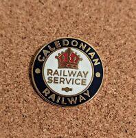 Caledonian Railway Reproduction First World War Railway Service Badge
